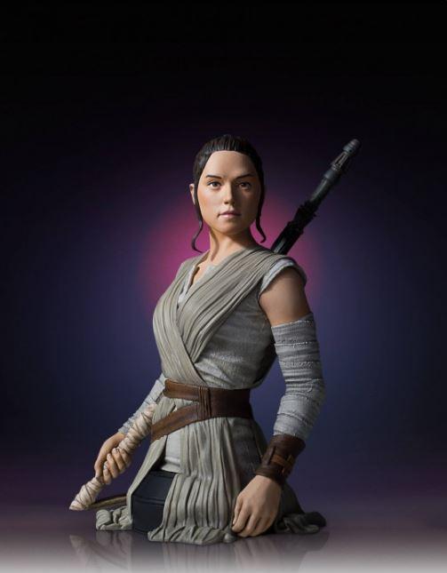 Gentle Giant -  Rey Star Wars Episode 7 Mini Bust 1:6 scale Rey_mi14