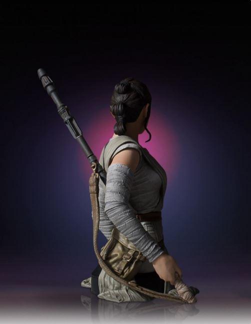 Gentle Giant -  Rey Star Wars Episode 7 Mini Bust 1:6 scale Rey_mi15
