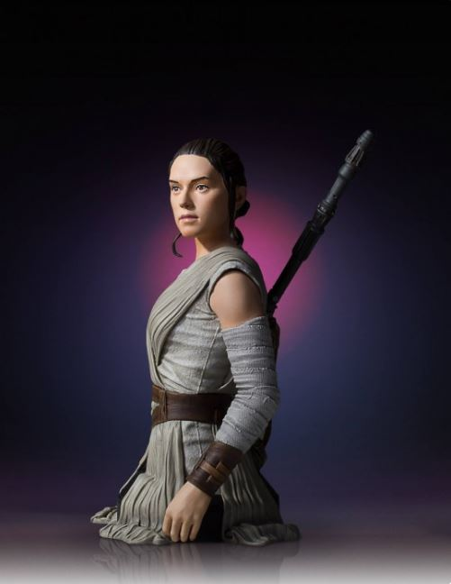 Gentle Giant -  Rey Star Wars Episode 7 Mini Bust 1:6 scale Rey_mi17