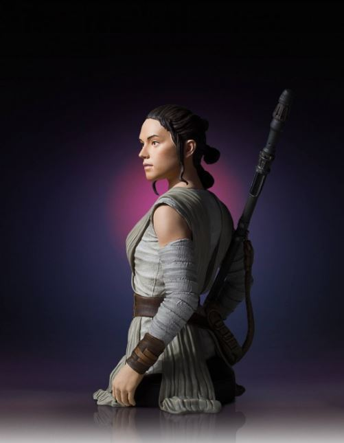 Gentle Giant -  Rey Star Wars Episode 7 Mini Bust 1:6 scale Rey_mi18