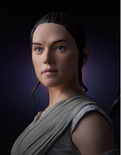 Gentle Giant -  Rey Star Wars Episode 7 Mini Bust 1:6 scale Rey_mi19