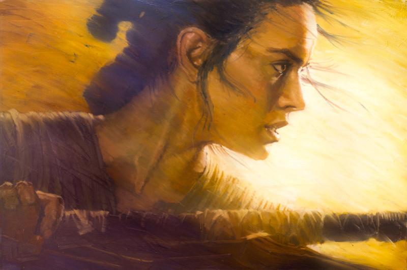 Artwork Star Wars - ACME - Rey Rey_zp10