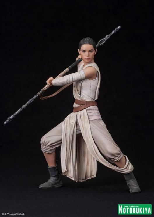Kotobukiya - SW The Force Awakens Rey & Finn ARTFX+ 2 Pack Reyfin16