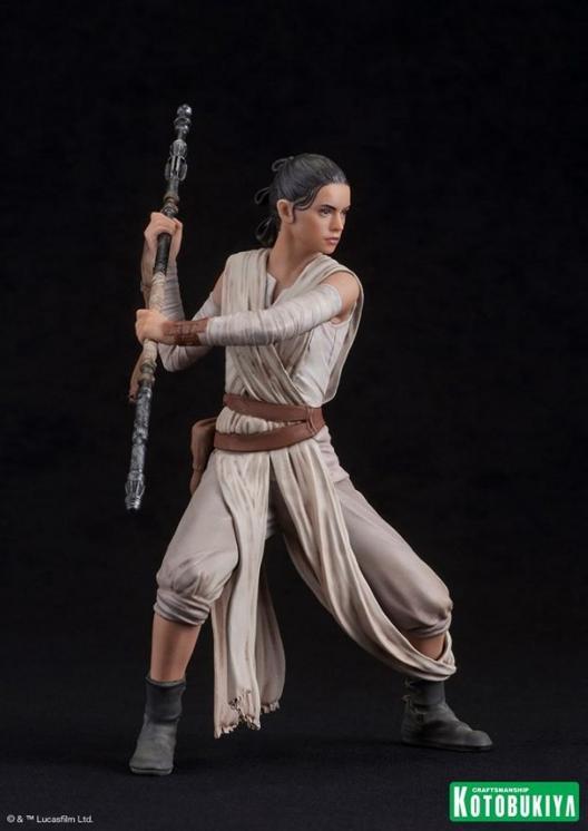 Kotobukiya - SW The Force Awakens Rey & Finn ARTFX+ 2 Pack Reyfin18