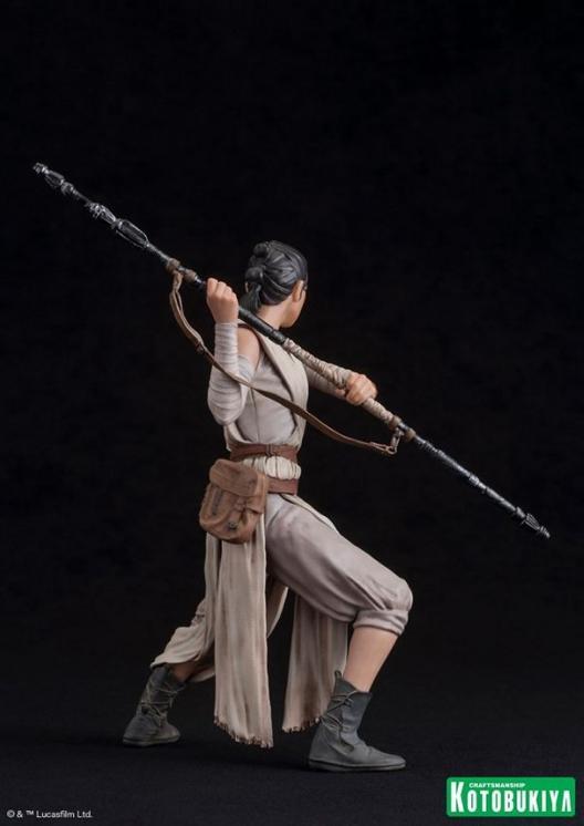 Kotobukiya - SW The Force Awakens Rey & Finn ARTFX+ 2 Pack Reyfin19