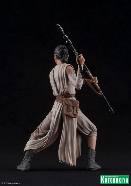 Kotobukiya - SW The Force Awakens Rey & Finn ARTFX+ 2 Pack Reyfin20