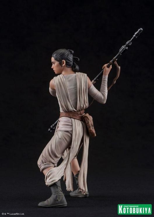 Kotobukiya - SW The Force Awakens Rey & Finn ARTFX+ 2 Pack Reyfin21