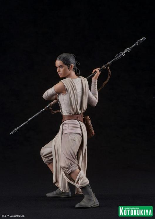 Kotobukiya - SW The Force Awakens Rey & Finn ARTFX+ 2 Pack Reyfin22