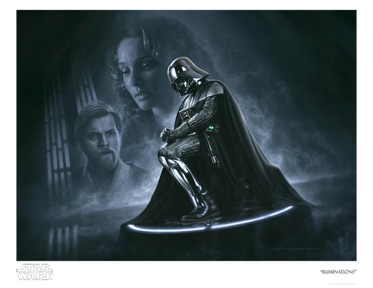 Artwork Star Wars - ACME - Vader - Ruminations Rumina10