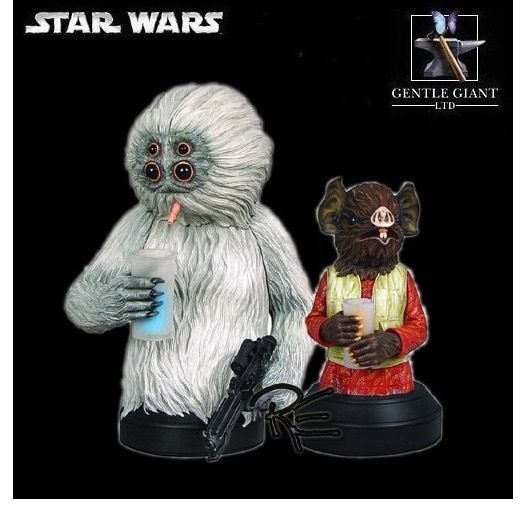 Gentle Giant - Muftak and Kabe Mini Busts  S-l10010