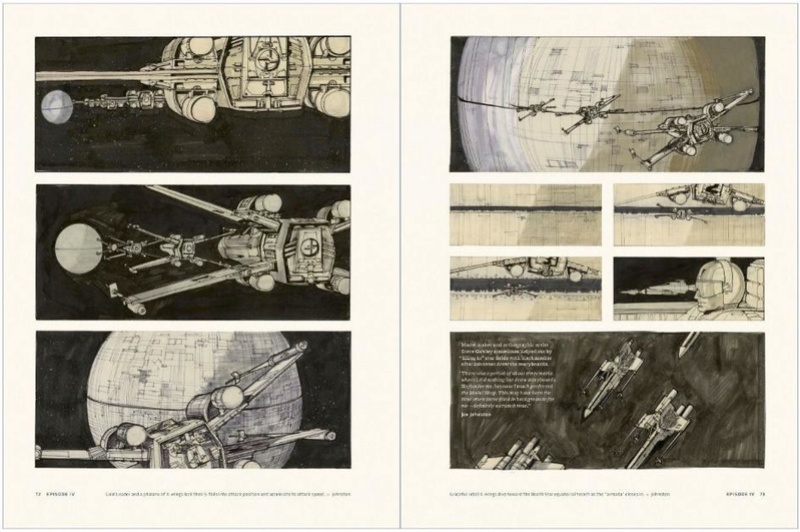 Star Wars Storyboards: The Original Trilogy S0212