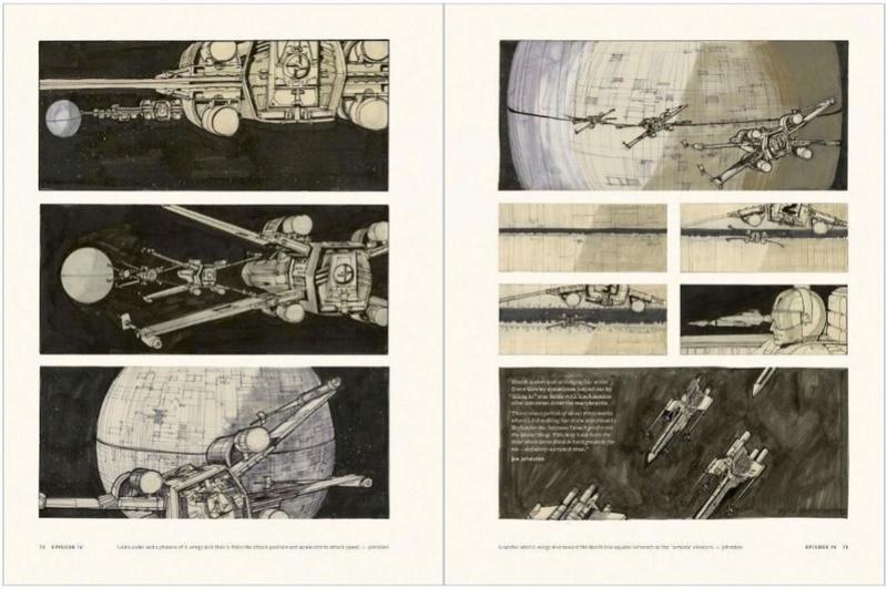 Star Wars Storyboards: The Original Trilogy S0212