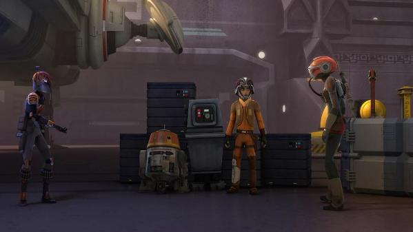 STAR WARS REBELS SAISON 2 EPISODES 01 - 10 S02e0610