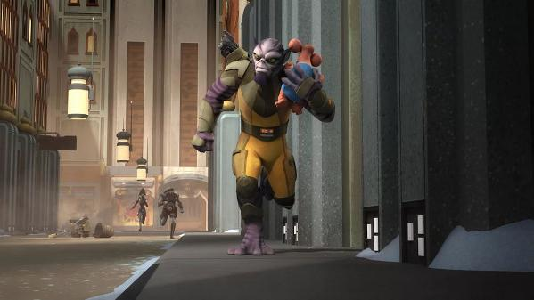 STAR WARS REBELS SAISON 2 EPISODES 01 - 10 S02e0810