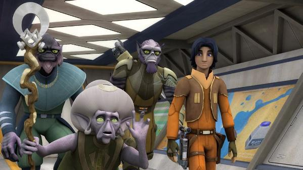 STAR WARS REBELS SAISON 2 EPISODES 11 - 20 S02e1210