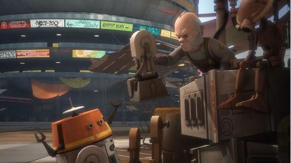 STAR WARS REBELS SAISON 2 EPISODES 11 - 20 S02e1810