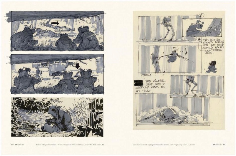 Star Wars Storyboards: The Original Trilogy S0412