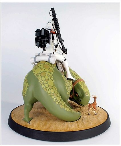 Gentle Giant - Animated Maquette - Sandtrooper On Dewback Sand0910