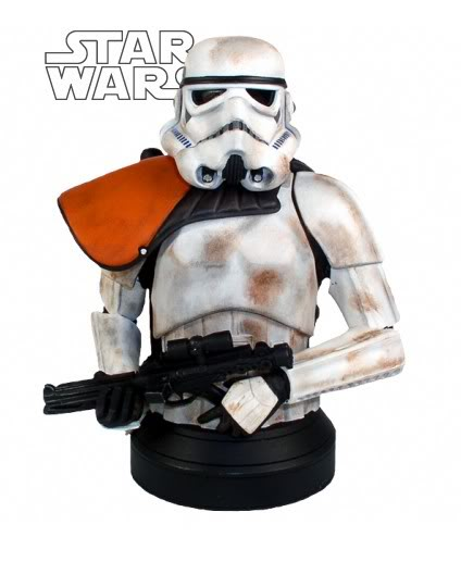 Sandtrooper Squad Leader Mini bust Sandtr11
