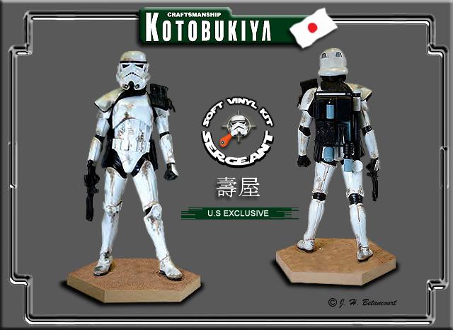Kotobukiya - SandTrooper Sergeant ARTFX Statue Sandtr13