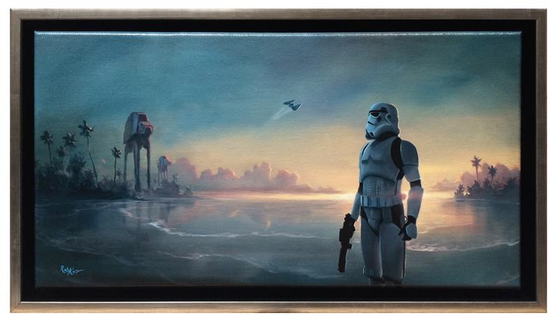 Artwork Star Wars - ACME - Scarif Forces Scarif10