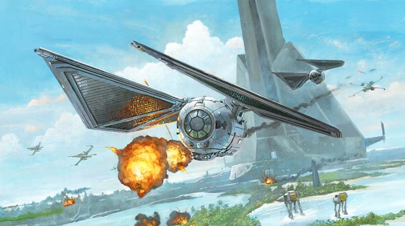 Artwork Star Wars - ACME - Scarif Striker Scarif24