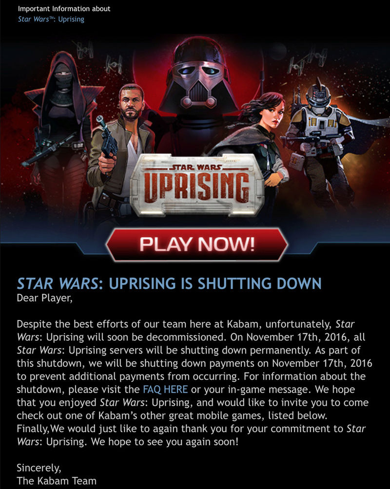Mobiles - Star Wars: Uprising - Star Wars Insurrection Screen13