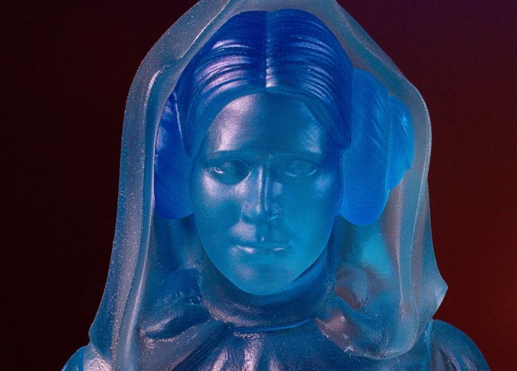 Gentle Giant - Princess Leia Hologram Statue SDCC 2017 EXCLU Sdcc2012
