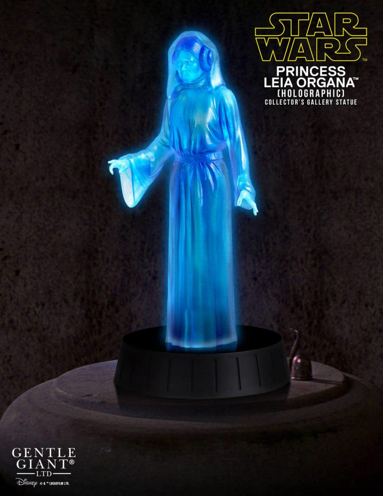 Gentle Giant - Princess Leia Hologram Statue SDCC 2017 EXCLU Sdcc2014