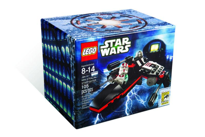 LEGO STAR WARS - SDCC2013 : JEK-14 Mini Stealth Starfighter Sdcc2042