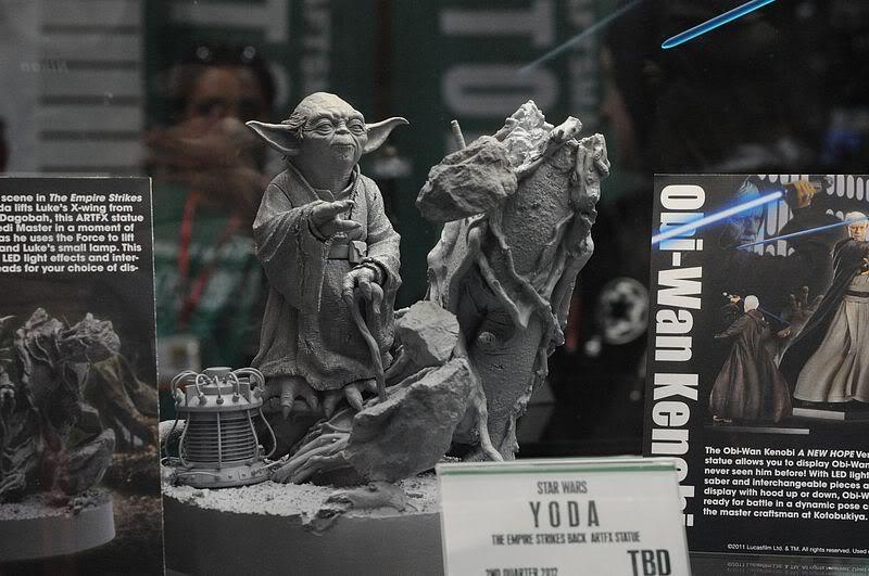 Kotobukiya - Yoda on Dagobah - ARTFX Sdcc2054