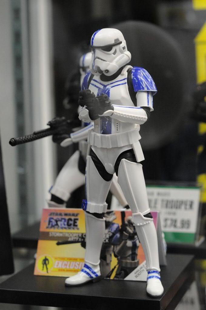 Kotobukiya: SDCC Exclusive ARTFX+ Stormtrooper Commander Set Sdcc2056