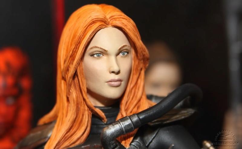 gentle Giant - Shae Vizla mini bust Shaevi13