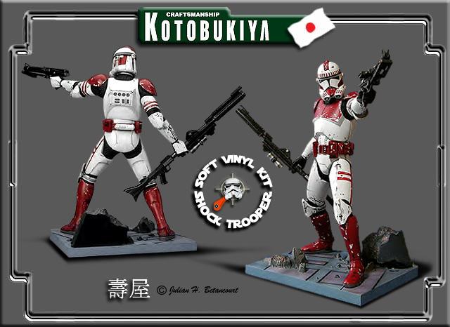 kotobukiya - Shock Trooper ARTFX Statue Shock-11