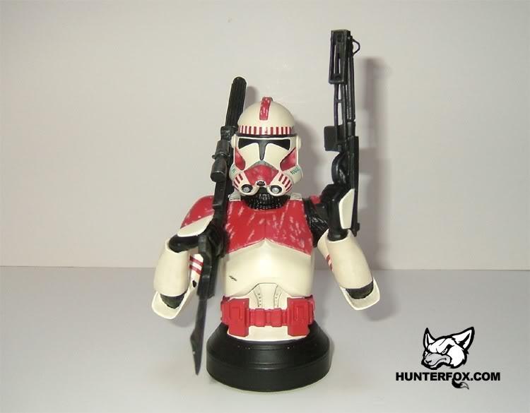 Shocktrooper Mini bust Shockt11