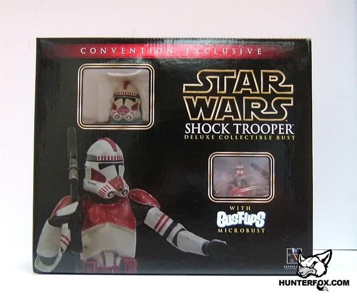 Shocktrooper Mini bust Shockt12