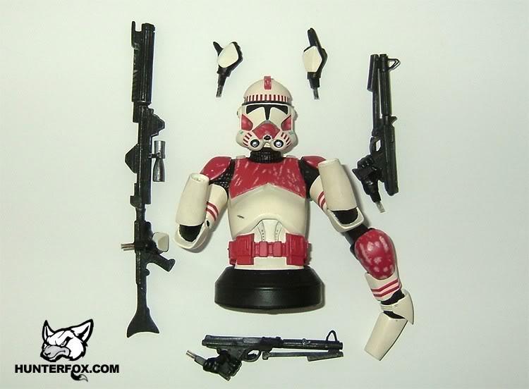 Shocktrooper Mini bust Shockt15