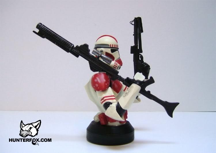Shocktrooper Mini bust Shockt16