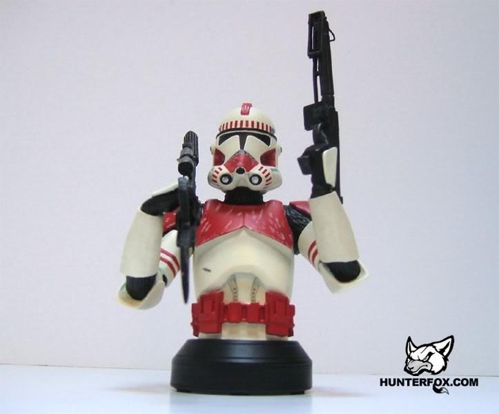 Shocktrooper Mini bust Shockt17