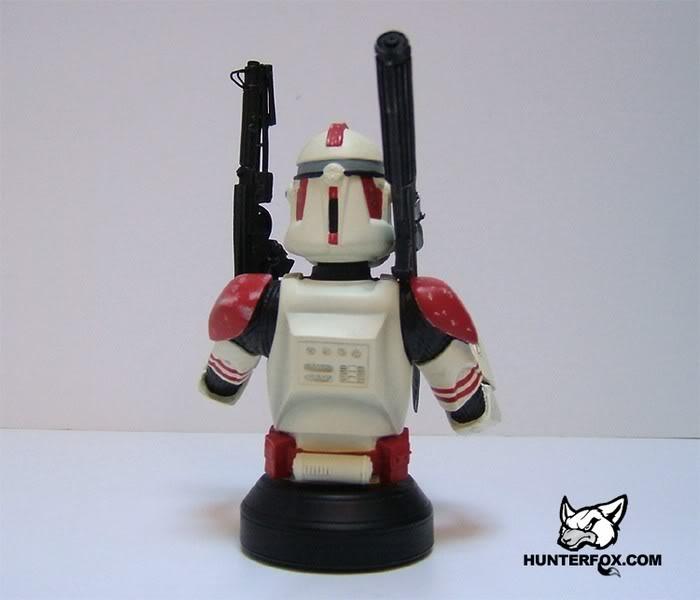 Shocktrooper Mini bust Shockt18
