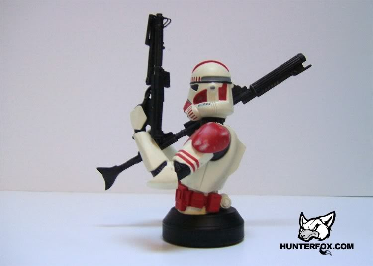 Shocktrooper Mini bust Shockt19