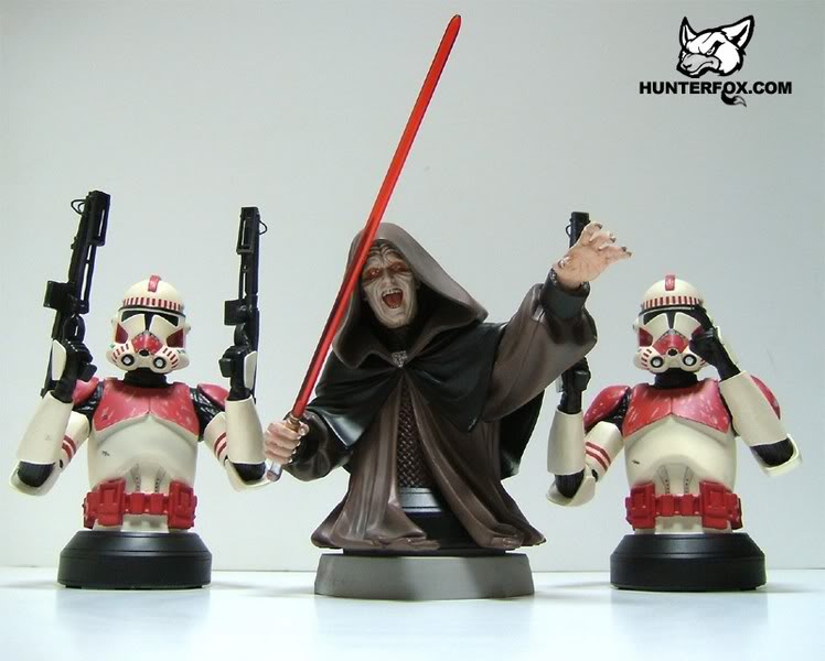Shocktrooper Mini bust Shockt22