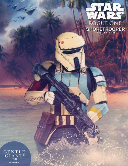 Gentle Giant - Rogue One Shoretrooper Mini Bust Shore010