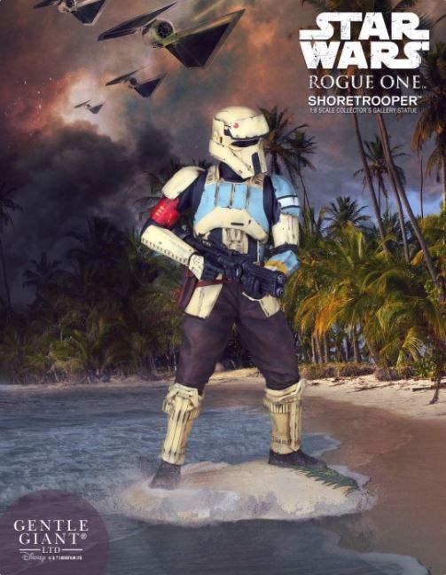 Gentle Giant - Star Wars Shoretrooper Gallery Statue Shoret16