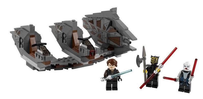 LEGO STAR WARS - 7957 - Sith Nightspeeder  Sithni11