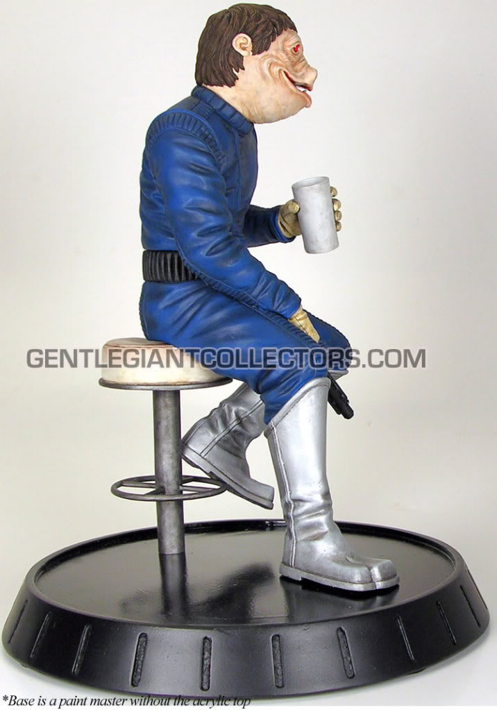 Gentle Giant - PGM Exclusive Blue Snaggletooth Statue Snagst12