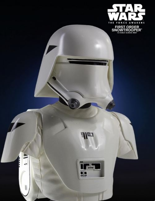 First Order Snowtrooper TFA Classic Mini Bust - PGM Exclu Snowtf11