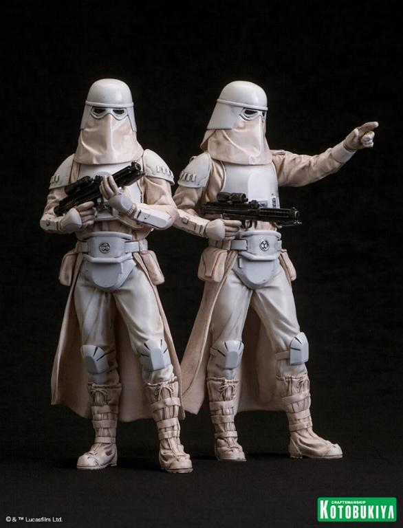 Kotobukiya: Snowtrooper Two-Pack ARTFX+ Statues  Snowtr10