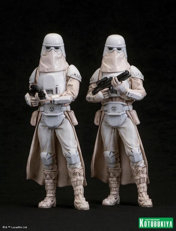 Kotobukiya: Snowtrooper Two-Pack ARTFX+ Statues  Snowtr13