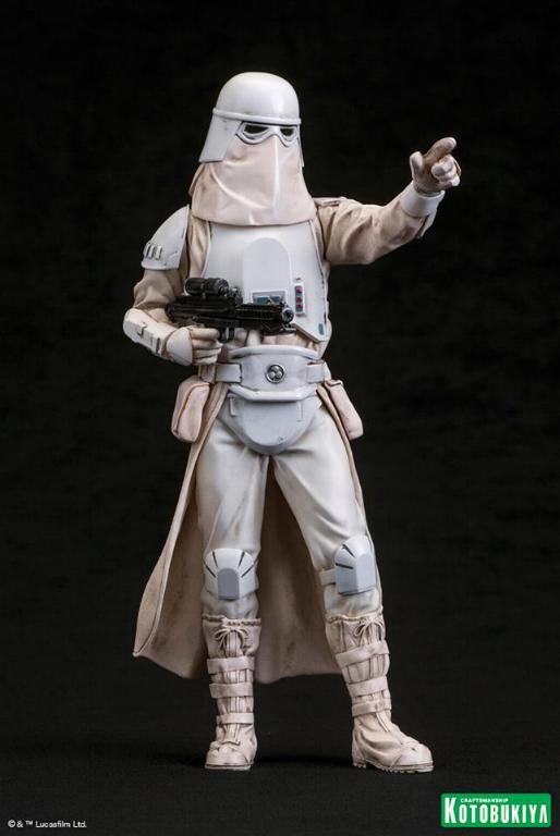 Kotobukiya: Snowtrooper Two-Pack ARTFX+ Statues  Snowtr14